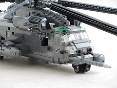 MH-53M Pave Low IV (Mad physicist) Tags: lego sikorsky pavelow stallion usaf mh53 mh53m helicopter 136 military
