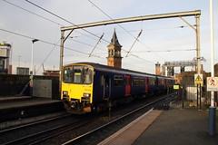 150106 Deansgate, Manchester (Paul Emma) Tags: uk england manchester railway railroad deansgate dieseltrain train 150106