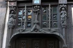 Maison Renaissance au 136 rue des tanneries à Verneuil-sur-Avre (Philippe_28) Tags: verneuilsuravre eure normandie france europe 27 colombage pansdebois