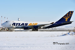 N475MC Atlas Air Boeing 747-47U(F) DSC_5023 (Ron Kube Photography) Tags: aircraft plane flight airliner nikon d7200 nikond7200 ronkubephotography yyc calgary calgaryinternationalairport boeing74747uf n475mc atlasair