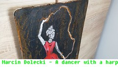 Dancer, girl woman painting (NajlepszySklep) Tags: paintingwoman marcindolecki painting art modernpaintings popart originalpainting girl woman