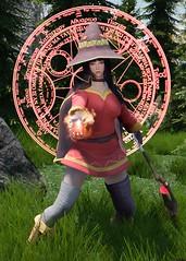 Moerooo!!! (Kurosaki Mea) Tags: skyrimkurosakimea skyrim kurosaki mea witches megumin konosuba