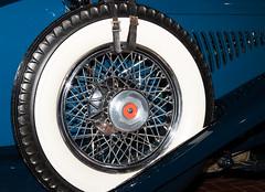 1929 Duesenberg J-111 Dual Cowl Phaeton Spare Tire (ksblack99) Tags: duesenberg 1929 j111 dualcowl phaeton automobile classiccar gilmorecarmuseum hickorycorners michigan sparetire