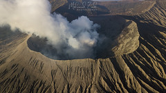 The Mighty Bromo - An Aerial Perspective (Mohamad Zaidi Photography) Tags: indonesia bromo active volcano hot lava smoke eastjava dji drone aerial fly mavic2pro