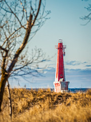 Golden winter (Bryan Esler Photo) Tags: lighthouse muskegon peremarquette puremichigan beach water winter