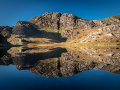Cwmorthin Reflections (Howie Mudge LRPS BPE1*) Tags: cwmorthin lake water reflection hills landscape nature ngc nationalgeographic travel adventure gwynedd wales cymru uk tanygrisiau panasonicg9 mft microfourthirds m43 leicadg1260f2840 panasonicdcg9