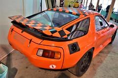 Porsche 928 (benoits15) Tags: porsche 928 orange german car nimes auto retro