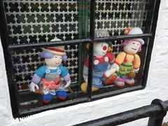 More Knitted Dolls (Thomas Kelly 48) Tags: panasonic lumix canal fz82 bridgewatercanal dolls knitteddolls