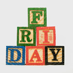 Another shot of wooden blocks with Friday text thumbnail