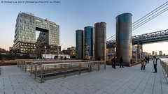 Domino Park (20190216-DSC04849) (Michael.Lee.Pics.NYC) Tags: newyork brooklyn williamsburg dominopark waterfront eastriver architecture cityscape sony a7rm2 williamsburgbridge voigtlanderheliar15mmf45
