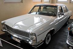 Diplomat (Schwanzus_Longus) Tags: automuseum melle german germany old classic vintage car vehicle sedan saloon opel diplomat