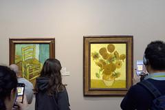 Tableaux-arlésiens-à-Londres (RS...) Tags: london londres arles nationalgallery tableaux vincentvangogh tournesols chaisedevincent d7200
