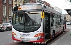 Bus Eireann VWL302 (12C3494). (Fred Dean Jnr) Tags: buseireann cork volvo b7rle wright eclipse2 vwl302 12c3494 southmallcork march2012 buseireannroute203 wrightbus