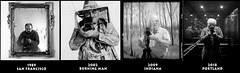 I've used the same camera for almost forty years. (jimhairphoto) Tags: 1989 butterfieldbutterfield sanfrancisco 2002 burningman 2009 indiana 2018 portland america self portraits streetlife streetstories théâtrederue 120 film hasselblad 120film ilford hp5 blackandwhite blancetnoir schwarzweiss blancoynegro blancinegre siyahrebeyaz jimhairphoto