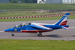 Alpha Jet E45 F-TETF 9 PdF (spbullimore) Tags: 9 ftetf e45 e jet alpha dassault de patrouille 20300 epaa france french air force armee lair 2018 cambridge airport