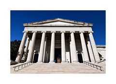 National Gallery of Art... (roylee21918) Tags: washington dc art gallery museum blue architecture columns dxo photolab
