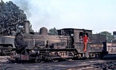 Saidpur survivor (Bingley Hall) Tags: steam locomotive engine rail railway railroad transport train transportation trainspotting asia 060 fclass metregauge bangladesh saidpur neilson assambengalrailway kodachrome