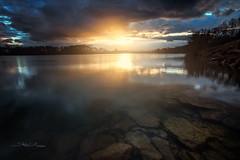 Couchant sur la Saône (Stéphane Sélo Photographies) Tags: ain canon1740f4 canon6dmarkii france trã©voux aqua coucherdesoleil eau landscape lumiã¨re paysage reflet riviã¨re sunset water