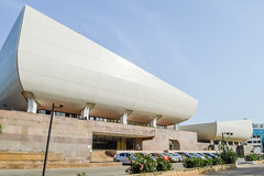 National Theatre of Ghana (Francisco Anzola) Tags: ghana accra africa city architecture theater modern building