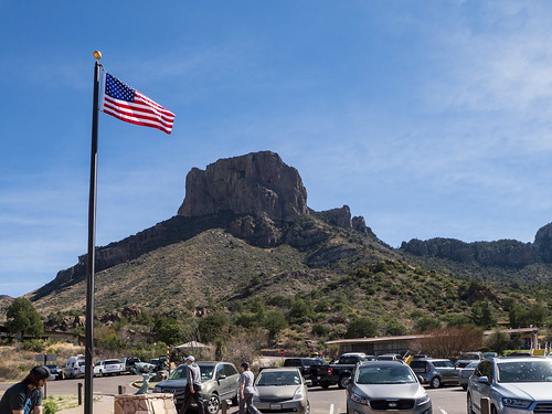 Chisos Basin Parking Lot