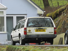 Volvo 740 GL (Andrew 2.8i) Tags: spot classics classic road kingdom united streetspotting cars car street spotting carspotting uk wales euro european estate stationwagon swedish 700series 740gl 760 gl 740 volvo