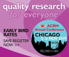 REGISTER for the ACRM Annual Conference (ACRM-Rehabilitation) Tags: acrmprogressinrehabilitationresearchconference acrmconference acrm|americancongressofrehabilitationmedicine annualconference interdisciplinary chi hiltonchicago medicalconference medicaleducation continuingeducationcredits braininjury braininjuryrehabilitation stroke scientificresearch scientificpaperposters spinalcordinjury strokerecovery