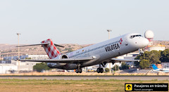 Boeing B717 Volotea EI-EXB (Ana & Juan) Tags: airplane airplanes aircraft airport aviation aviones aviación boeing 717 b717 volotea takeoff departure alicante alc leal spotting spotters spotter planes canon closeup sunrise