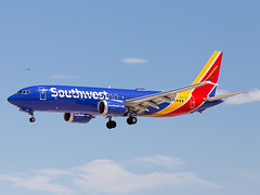 N8710M (ChrischMue) Tags: southwest airlines boeing b737max8 max las vegas mccarran international klas n8710m