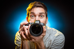 New Year, New Camera 1/52 (stevemolder) Tags: 52 canon eosr eos 70d strobist glue gel self portrait vello