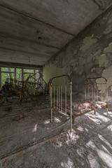 KindergartenCrib (www.vanishingnewengland.com) Tags: urbex chernobyl pripyat abandoned decay explore travel school kindergarten