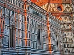 Firenze, Santa Maria del Fiore (Les 3 couleurs) Tags: firenze santamariadelfiore florence italie italia italy toscana toscane tuscany cathédrales