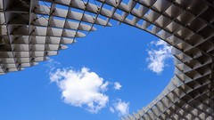 Métropol, Sevilla (joannab_photos) Tags: sevilla geometry sky spain architecture