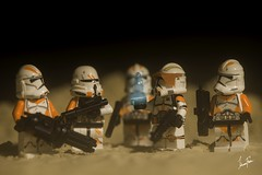 305. Order 66 (xJohns) Tags: cody order66 starwars troopers clonertroopers toy lego macro