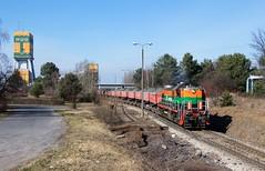 TEM2-033 Polkowice (Jan Hanzel) Tags: tem2 polkowice polmiedź trans kghm poland towarowy freight train güterzug śląsk