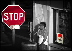 Stop Smoking (jcsflr) Tags: smoking smoke monochrome danger cancer cigarette bw