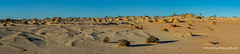 The Walls of China - Mungo NP, NSW, Australia (Peter.Stokes) Tags: australia australian colour landscape landscapes nsw nature newsouthwales outback outdoors photography sky vacations panorama photo sand desert outbackaustralia national nationalpark mungonp mungo