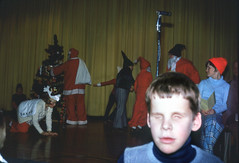 School of the Blind (jericl cat) Tags: december 1977 school blind boy christmas tree season stage