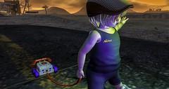 Adalcito Akina's Imagination (Max Akina) Tags: kid imagination toy phone retro games