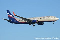 Aeroflot 738 vq-bwf (merlyn.pauley) Tags: london londonheathrow londonheathrowairport boeing 737 737800 738 airliner airport aeroflot vqbwf
