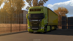 Greece (black_moloko) Tags: ets2 truck scania smds