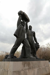 Monument to Mining Glory (Ray Cunningham) Tags: kazakhstan karaganda former ussr soviet union cis