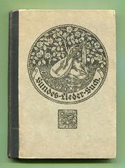 Bundes-Liederbuch (altpapiersammler) Tags: old vintage alt singen gesang laute zeichnung drawing draft buch book lesen reading umschlag bucheinband