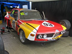 180 BMW 30CSL - (replica) Art Car - Sam Thomas Racing (1975) (robertknight16) Tags: bmw german germany 1970s 30csl motorsport autosport racecar racingcar artcars calder poulain silverstoneclassic