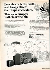 Ampex 1461 Tape Recorder 1968 (Nesster) Tags: modernphotography 1968 vintage ad advert advertisement magazine print ampex stereo taperecorder tape