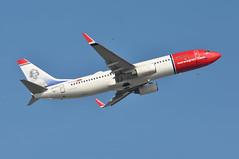 'DY33B' (DY1303) LGW-OSL (A380spotter) Tags: takeoff departure climb climbout boeing 737 800wl lndyg jennylindswedishoperasinger norwegiancom norwegainairshuttleasa nax dy dy33b dy1303 lgwosl runway08r 08r london gatwick egkk lgw