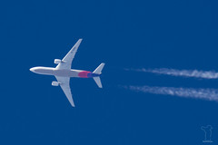 HL8284 (PM's photography) Tags: airplane airline airliner jet plane spotting canon eos 7d tamron 150600 g2 sky airport boeing b777 aar asiana airlines b772 h8284 b777200 contrail rnav rnavspotterspl
