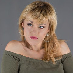 Ania (piotr_szymanek) Tags: ania aniaz woman young skinny portrait studio face blonde nobra 1k 20f 5k 50f 10k 20k