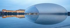 中國國家大劇院 National Centre for the Performing Arts (kevinho86) Tags: ef1635f4lusm wideangle architecture canon colour beijing 北京 reflection 空 天空 lightshadow art nightscape night longexposures citynights eos6d 建築