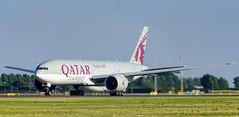 qatar cargo A7-BFD (K.D_aviation) Tags: boeing aviation airport airbus amsterdam finnair skyteam indonesia klm qatar cargo surinam turkish air transat delta airfrance