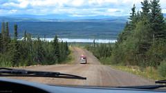 Alaska: Dalton Highway and Yukon River (Henk Binnendijk) Tags: alaska usa vs daltonhighway truck trucker haulroad jamesdalton pipeline gravel